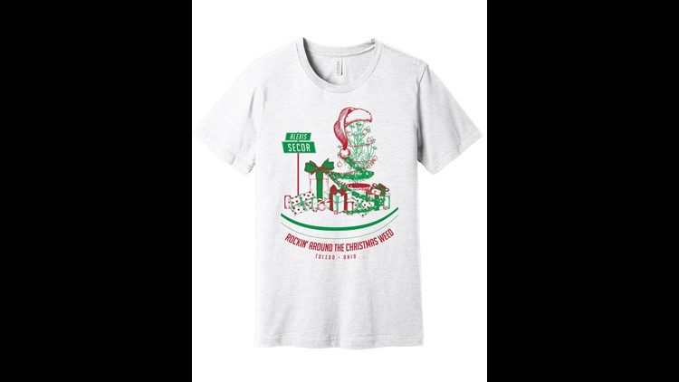 Toledo Christmas Weed inspired shirts and helped the community - Jupmode raised $14,310 for local shelters