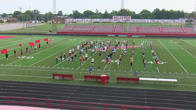 Band of the Week preview: Bellevue Marching Band