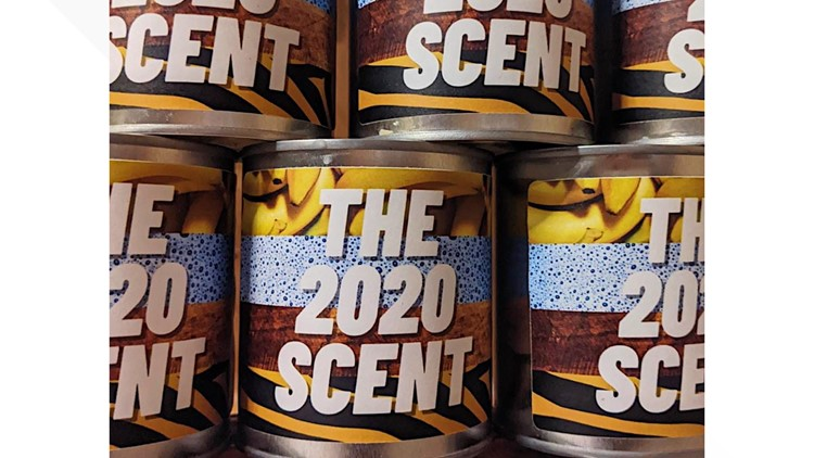 UK candle company unveils '2020 scent' with swirls of sanitizer, Tiger King