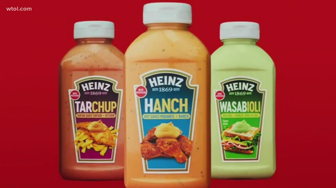 Hanch? Wasabioli? What do you think of these new Heinz mashups?