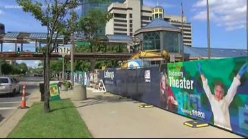Traffic alert: Part of Summit Street to close until June 24 as part of pedestrian bridge demolition