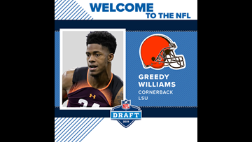 Day 2 of 2019 NFL Draft: Cleveland Browns pick CB Greedy Williams with No. 46 pick