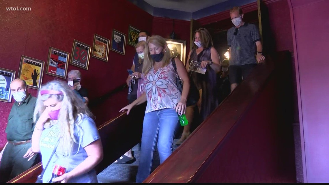 Live audiences return to Toledo Repertoire Theatre for first time since pandemic started