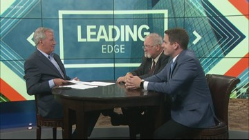 October 13: Leading Edge with Jerry Anderson — Guests Sam Melden and Tom Names
