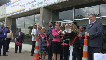 TARTA leaders hold ribbon-cutting ceremony at new transit hub
