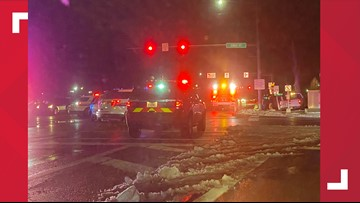 3 injured after driver runs red light at Gibbs and Anthony Wayne Trail