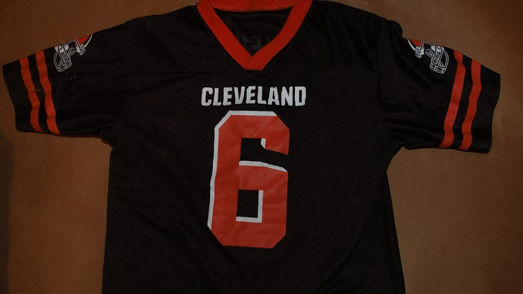 Harley Dilly Baker Mayfield jersey