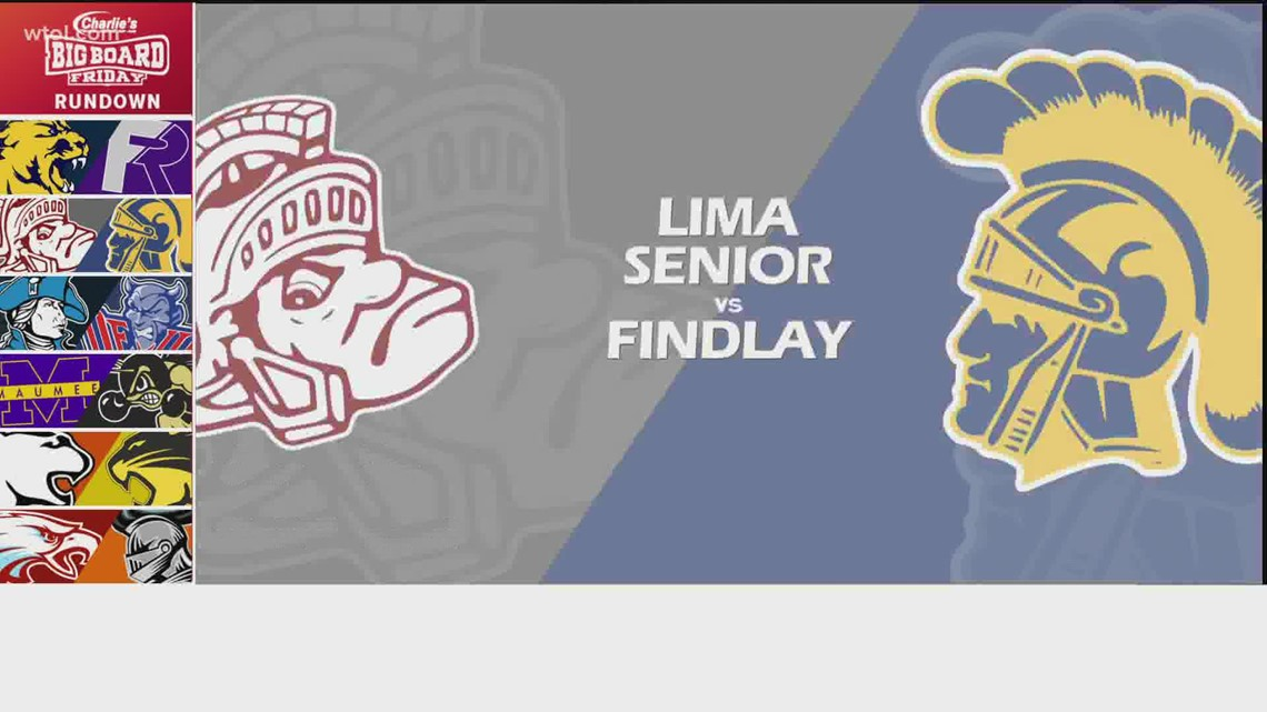 Big Board Friday Week 10: Findlay vs. Lima Senior