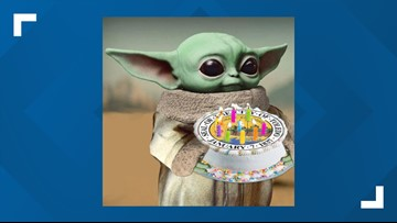 Incredible City Of Toledo Celebrates 183Rd Birthday With A Baby Yoda Meme Funny Birthday Cards Online Fluifree Goldxyz