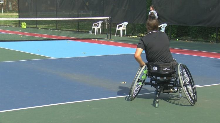 Twos Athletic Club holds their first wheelchair tennis tournament