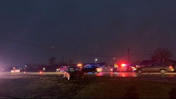Crews on scene of 2-car crash in Perrysburg