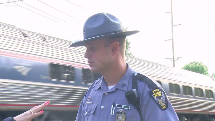 One person injured after car vs. train crash