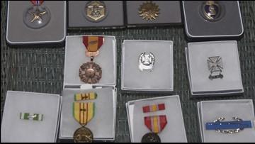WATCH | Local Vietnam veteran gets medals that were stolen years ago reissued