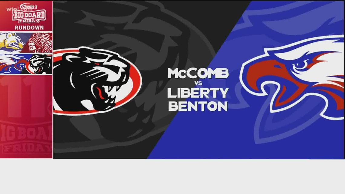 Big Board Friday Week 10: McComb vs. Liberty Benton