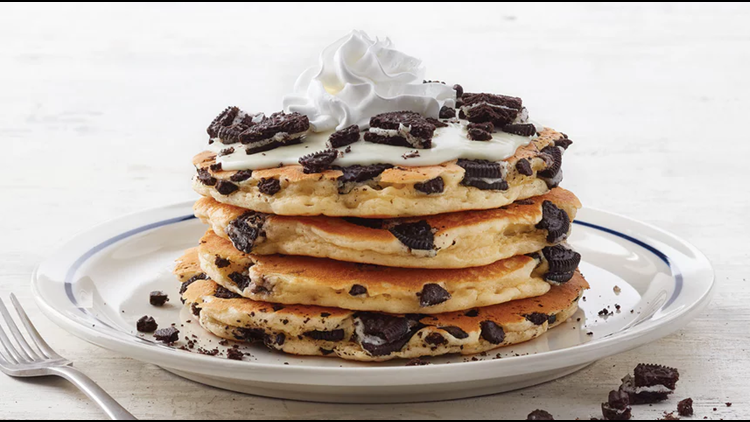 Ore-OMG: IHOP has Oreo pancakes for a limited time only