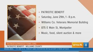 Patriotic Benefit in Williams Co.