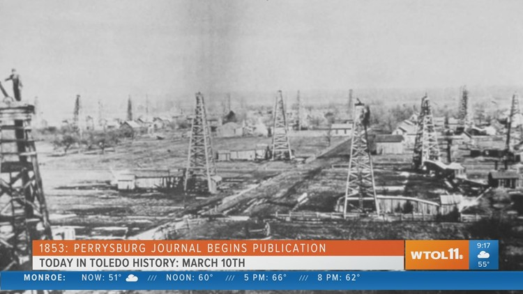 Today in Toledo History: March 10