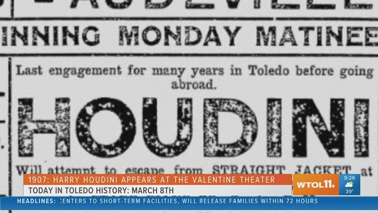 Today in Toledo History | March 8