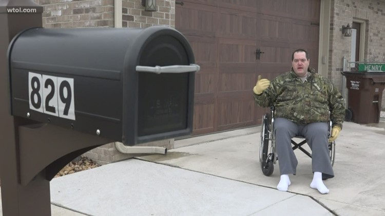 Call 11 for Action: Disabled Deshler man confused about demand to move mailbox
