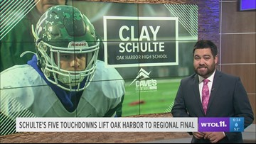 Oak Harbor's Clay Schulte: Athlete of the Week