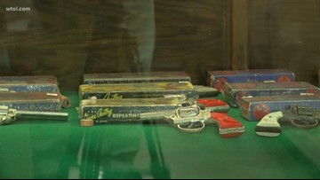 Ohio town celebrates toy gun and Hollywood cowboy
