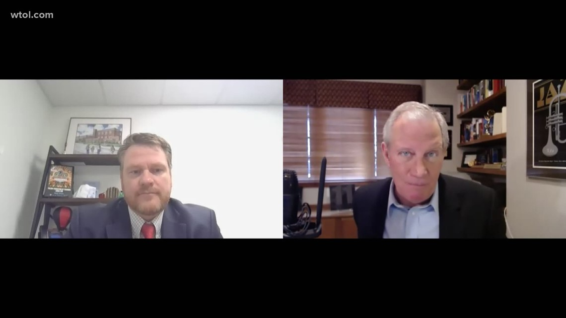 Leading Edge with Jerry Anderson: Feb. 21 — Toledo Federation of Teachers President Kevin Dalton   Part 1