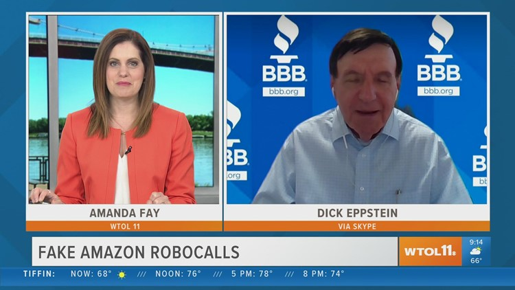 BBB: Beware of fake Amazon robocalls