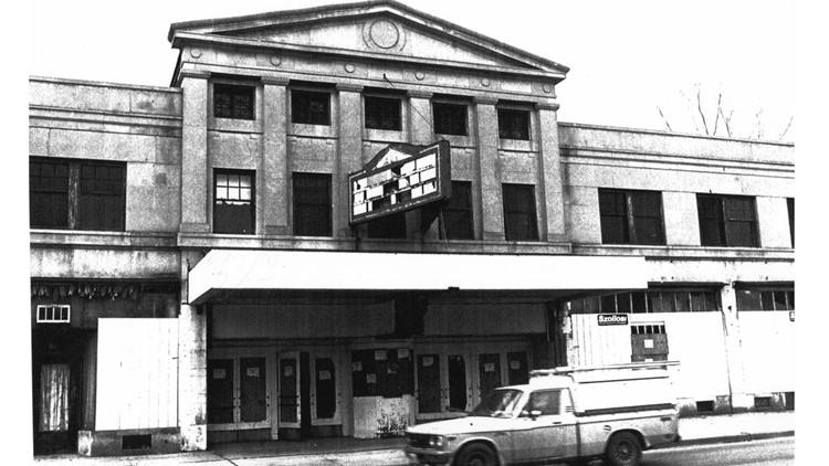 Abandoned State Theater Dawn Backes murder site Cook Brothers