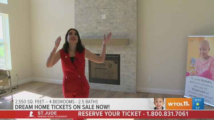 Tickets for the St. Jude Dream Home are going faster than ever! Get yours now before they sell out!