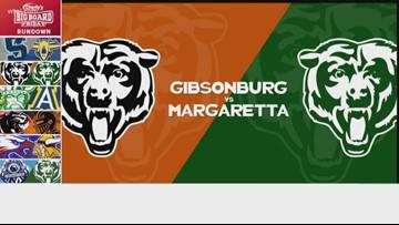 Charlie's Dodge Chrysler Jeep Ram Big Board Friday: Gibsonburg vs. Margaretta