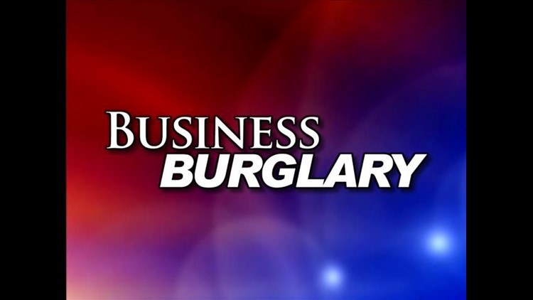 Bungling burglar at Mich. shop busted by workers