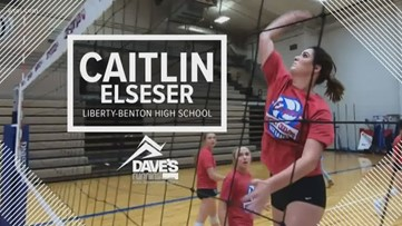 Athlete of the Week: Caitlin Elseser
