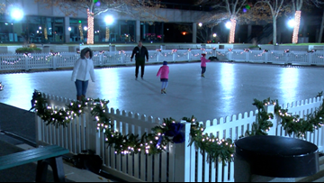 Lace up those skates, One SeaSkate is open for ice skating