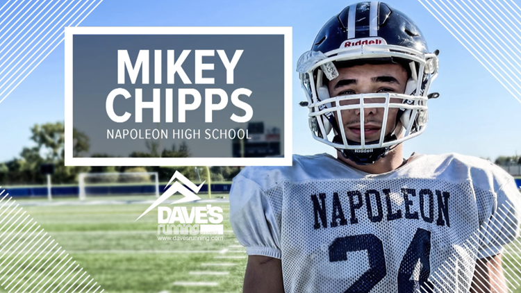 Athlete of the Week: Mikey Chipps of Napoleon High School