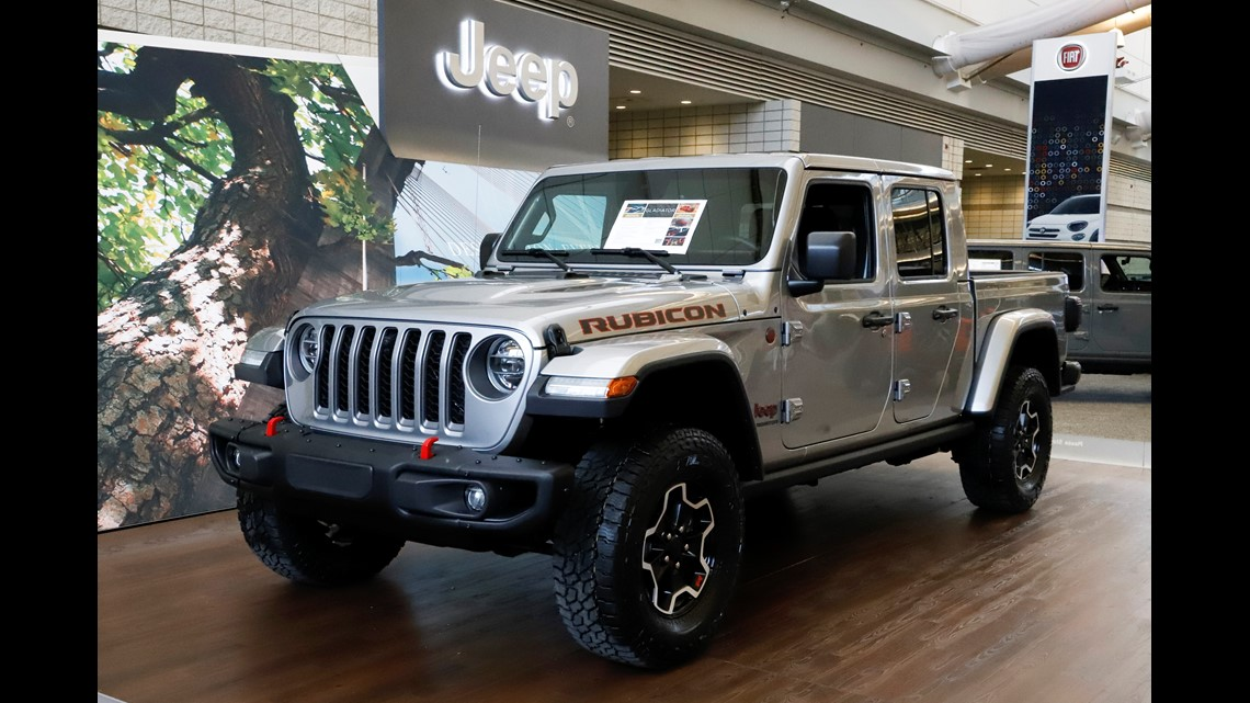 Limited-run All-new 2020 Jeep® Gladiator Launch Edition ...