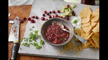 Cranberries - not just for Thanksgiving! Dei Fratelli shares Cranberry Salsa