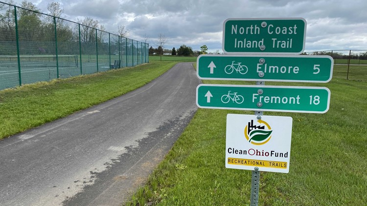 New bike trail connects villages of Genoa and Elmore