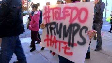 Ohio activists, Dems plan protests Thursday to mark Trump's visit