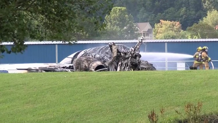 'They were extremely lucky' | Dale Earnhardt Jr. & family safe, released from hospital after plane crash in East Tennessee