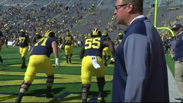 Harbaugh questions some transfers' mental health claims