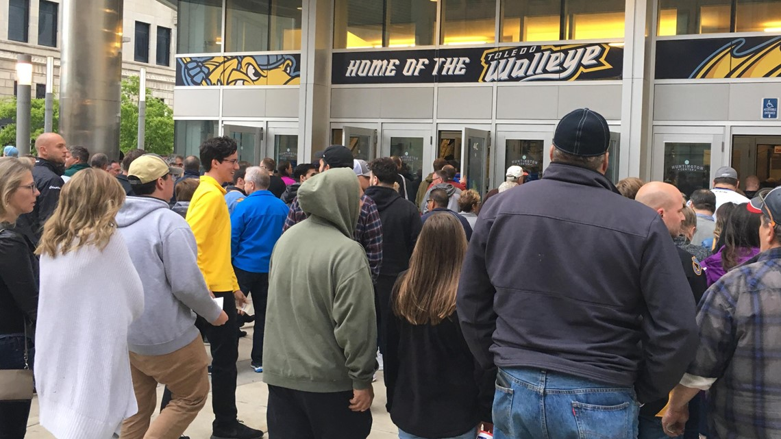 Walleye fans eager for a trip to the conference finals