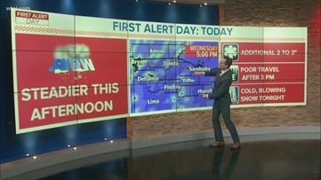 FIRST ALERT: More Snow Ahead Today