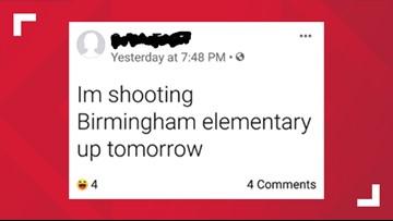 TPS investigating threat against Birmingham Elementary