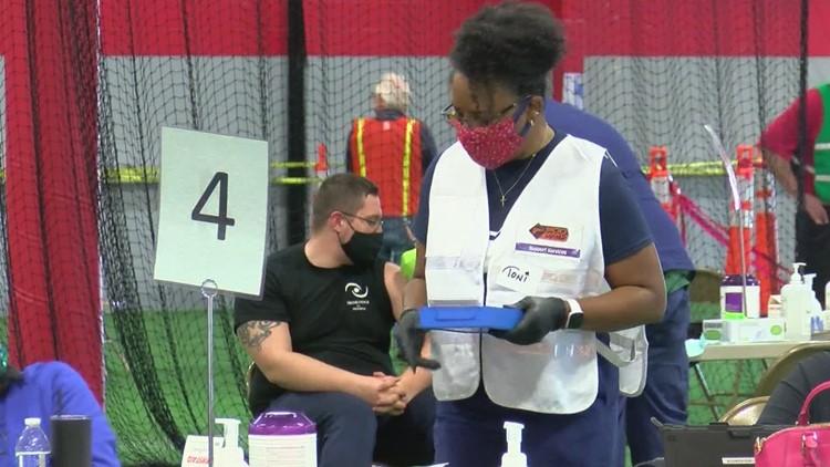Volunteers allow COVID-19 vaccine clinics to move forward across Ohio