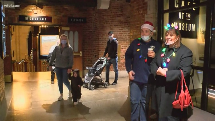 Lights Before Christmas 2020   Natural History Museum features indoor fun this season