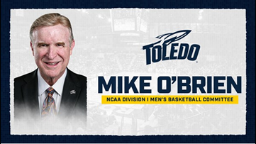 University of Toledo athletic director Mike O'Brien's term extended on NCAA basketball committee