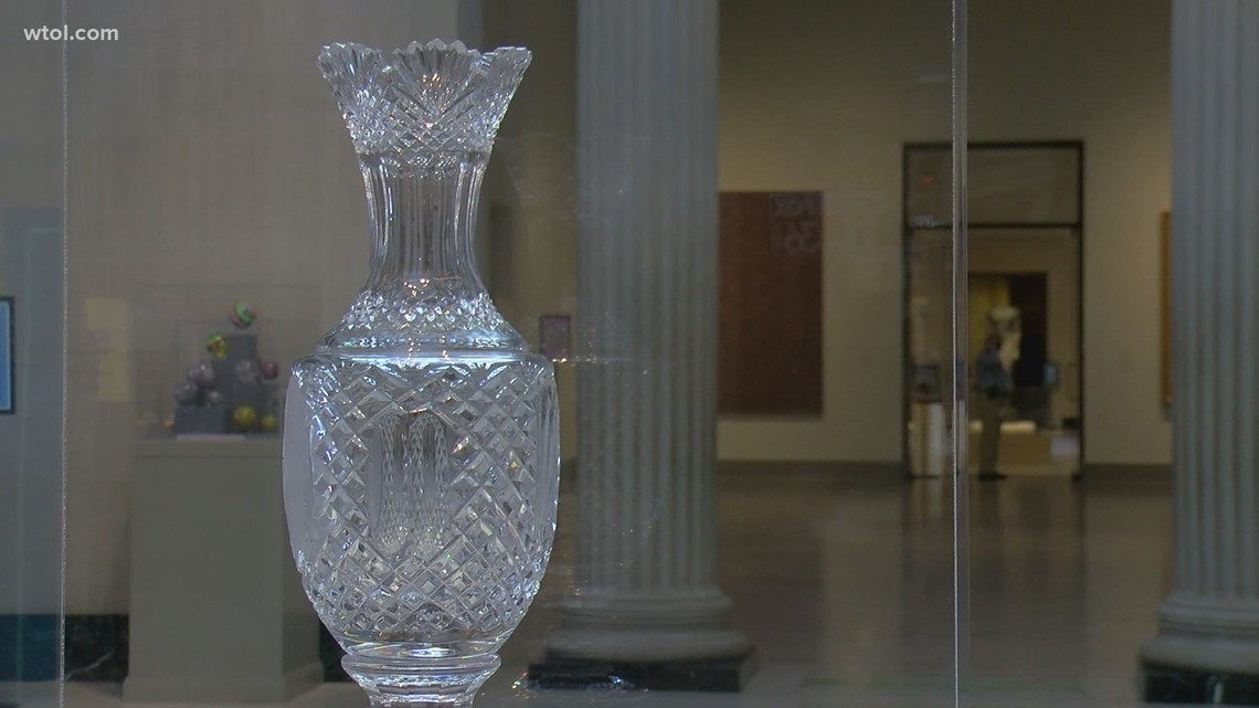 Solheim Cup on display at Toledo Museum of Art