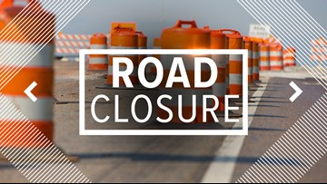 Streets in Toledo to close Monday for several weeks