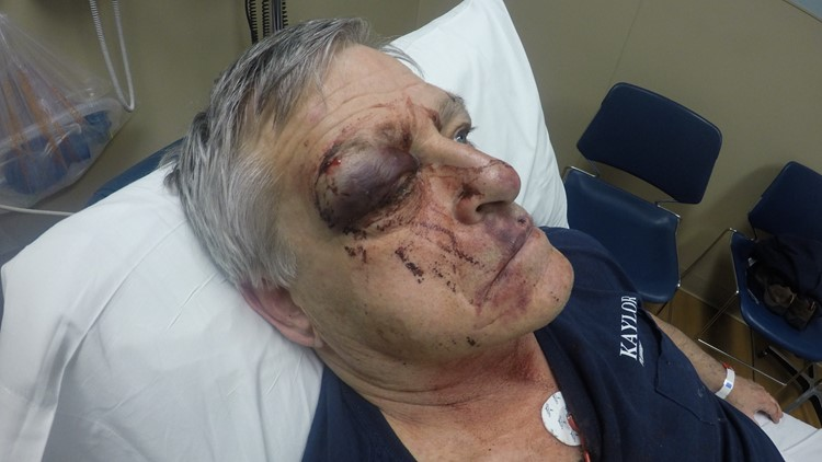 Alleged victim John Kaylor