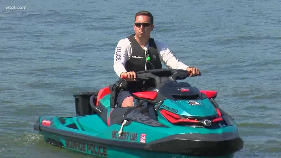 Monroe police roll out new marine unit